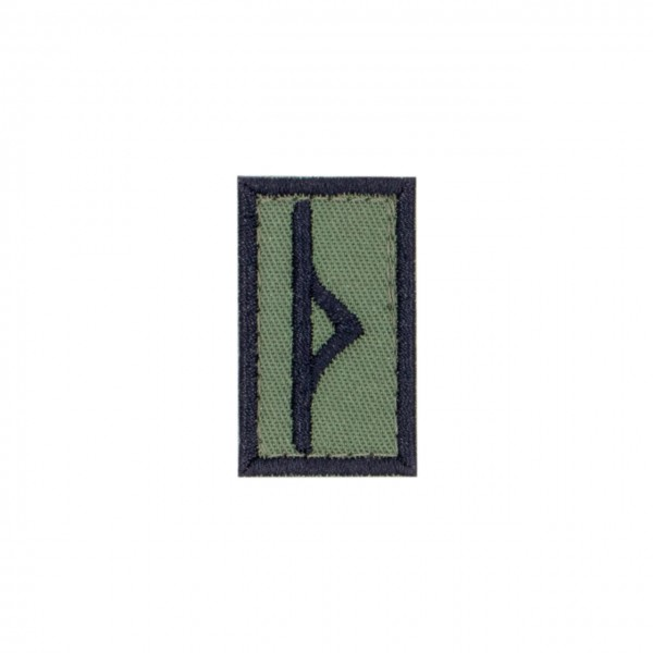 "Patch ""THURISAZ"", oliv"