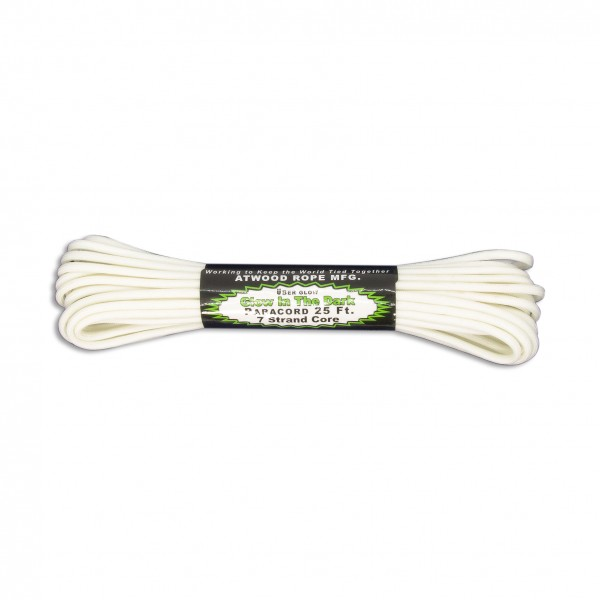 ARM 550 Paracord 4 mm - 7,62 m, glow-in-the-dark
