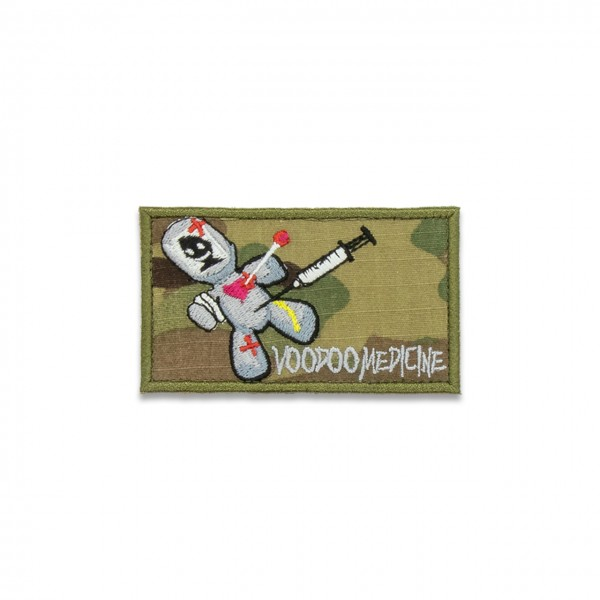 "Patch ""VOODOO MEDICINE"", 50x85 mm, multicam®"